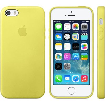 ����� Apple iPhone 5s Case - Yellow MF043ZM/A
