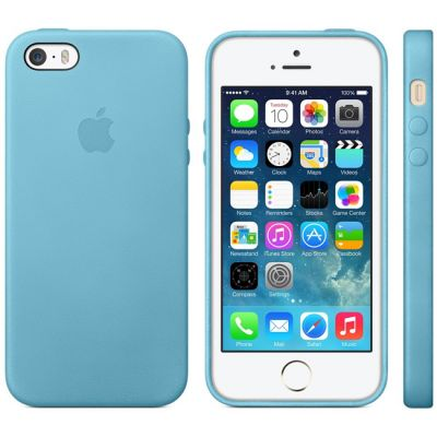 Чехол Apple iPhone 5s Case - Blue MF044ZM/A