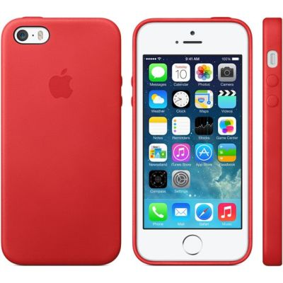 ����� Apple iPhone 5s Case - Red MF046ZM/A