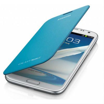 Samsung чехол-книжка EFC-1J9FBE синий для GT-N7100 Galaxy Note II EFC-1J9FBEGSTD