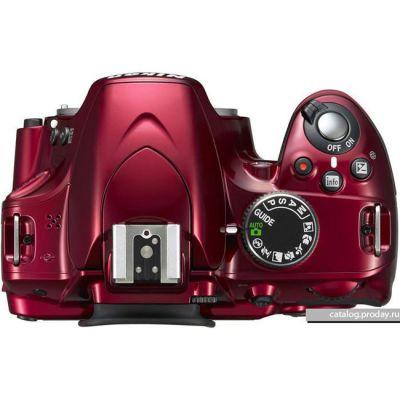 Зеркальный фотоаппарат Nikon D5200 Body Red [VBA351AE]