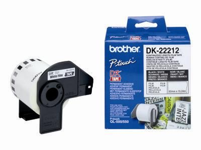 ��������� �������� Brother ����� �������� ��������� ����� Brother DK22212, ������ 62 �� (�������������, ����� 15,24�) DK22212