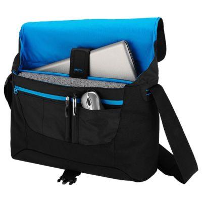 "����� Dicota Bounce Messenger 15-16.4"" black/blue D30256"