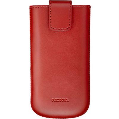 Чехол Nokia для мобильных телефонов красный (Nok 808,Asha 302/205/200,Lumia 710/510) CP-593