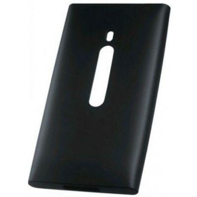 Чехол Nokia для Lumia 800 черный (силикон) CC-1031
