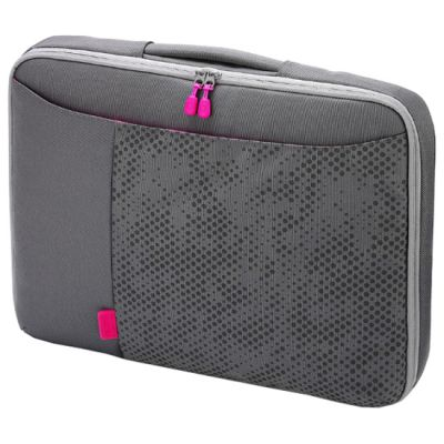 "����� Dicota Bounce SlimCase 13-14.1"" grey/pink D30261"
