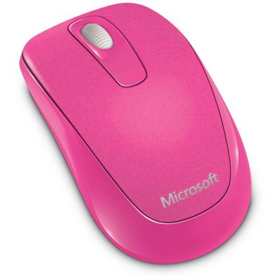 ���� ������������ Microsoft Wireless Mobile Mouse 1000 Pink USB 2CF-00035