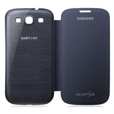 Samsung чехол-книжка синий для GT-I9300 Galaxy SIII EFC-1G6FBECSTD
