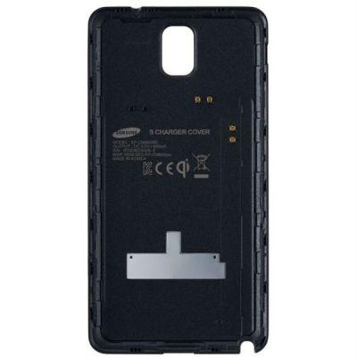 Чехол Samsung для Galaxy Note 3 серый Wireless charging EP-CN900IBRG