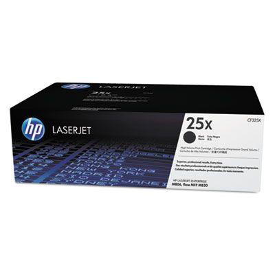 Тонер-картридж HP 25X Black/Черный (CF325X)