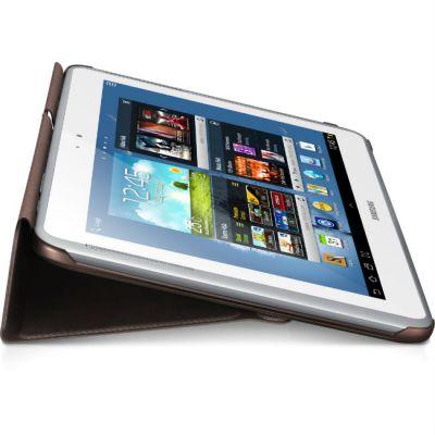 Чехол Samsung для Note 10.1/N8000 PU+plastic_Amber Brown EFC-1G2NAECSER