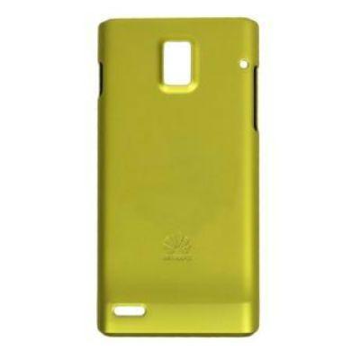 Huawei крышка для Huawei P1, пластик, цвет: желто-зеленый P1 cover Green