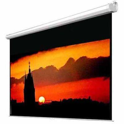Экран Classic Solution С электроприводом Classic Lyra (4:3) 366x366 (E 358х266/3 MW-D8/W)