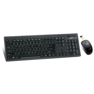 Комплект Genius SlimStar 8010 Клавиатура + Мышь Black G-TT SlimStar 8010
