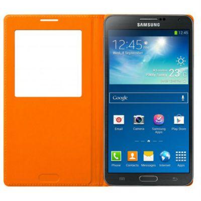 Чехол Samsung для Galaxy Note 3 оранжевый EF-CN900BOEG