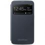 Чехол Samsung для GT-I9200 Galaxy Mega 6.3 черный S-View EF-CI920BBEG