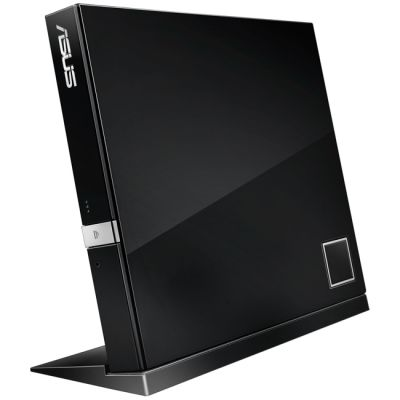 DVD-привод ASUS BD-ROM/DVD RW USB 2.0 Black retail SBC-06D2X-U/BLK/G/AS