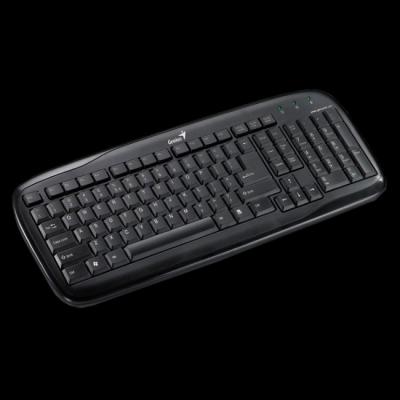 Клавиатура Genius SlimStar 110 Black PS/2 G-KB SlimStar 110