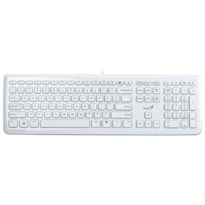 Клавиатура Genius SlimStar i220 White USB G-KB SlimStar i220 W