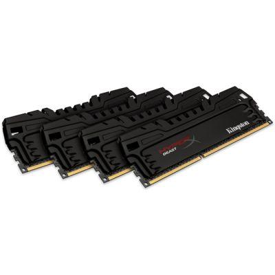 Оперативная память Kingston DIMM 16GB 1866MHz DDR3 CL9 (Kit of 4) KHX18C9T3K4/16X