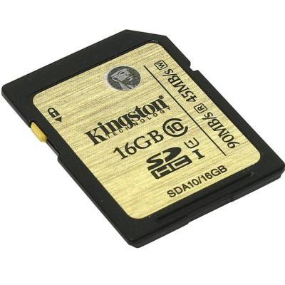 ����� ������ Kingston SDHC 16GB Class 10 Ultimate Flash Card SDA10/16GB