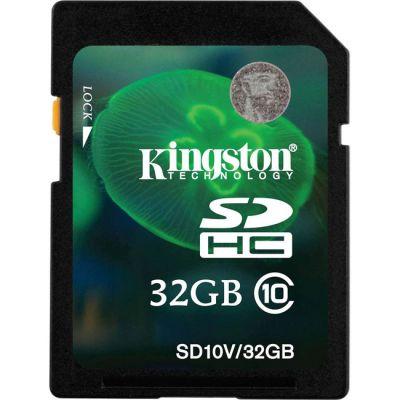 Карта памяти Kingston 32GB SDHC Class 10 UHS-I Ultimate Flash Card SDA10/32GB
