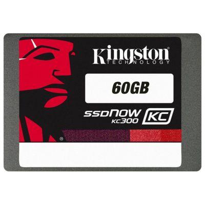 """SSD-диск Kingston Now KC300 SATA2.5"""" 60GB Upgrade Bundle Kit SKC300S3B7A/60G"""