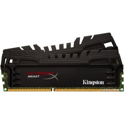 ����������� ������ Kingston DIMM 16GB 1866MHz DDR3 CL10 (Kit of 2) XMP Beast Series KHX18C10AT3K2/16X