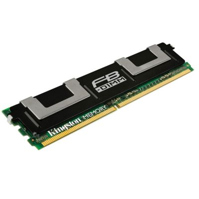 Оперативная память Kingston DIMM 2GB 667MHz DDR2 ECC Fully Buffered CL5 Dual Rank, x8 KVR667D2D8F5/2G