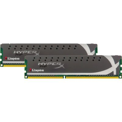 ����������� ������ Kingston DIMM 4GB 1600MHz DDR3 Non-ECC CL9 (Kit of 2) XMP X2 Grey Series Hyper X KHX1600C9D3X2K2/4GX