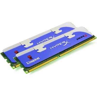 Оперативная память Kingston DIMM 4GB 1600MHz DDR3 Non-ECC CL9 (Kit of 2) XMP HyperX KHX1600C9D3K2/4GX
