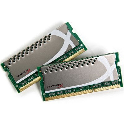 Оперативная память Kingston SODIMM 4GB 1866MHz DDR3 Non-ECC CL11 (Kit of 2)HyperX Plug n Play KHX1866C11S3P1K2/4G
