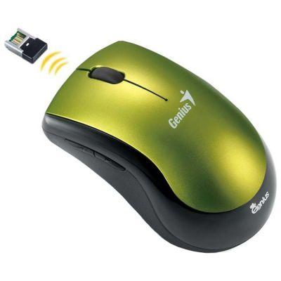 Мышь беспроводная Genius Ergo 7000 Green