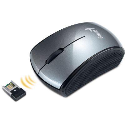 Мышь беспроводная Genius Micro Traveler 900 S Gray