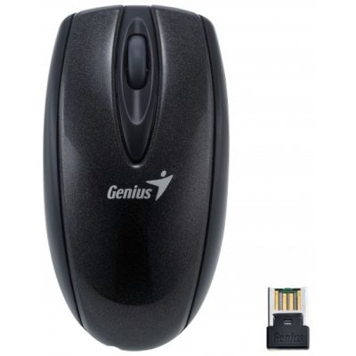 Мышь беспроводная Genius Mini Navigator 900 Black