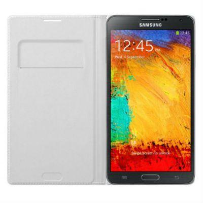 Чехол Samsung для Galaxy Note 3 белый Flip Wallet EF-WN900BWEG