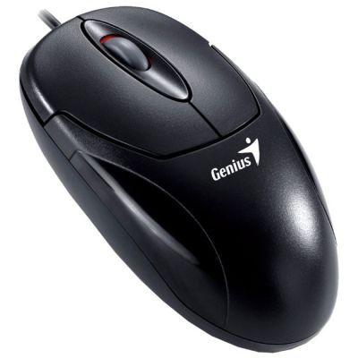 Мышь проводная Genius Xscroll Optical Black PS/2 GM-XscrollOpt PS/2