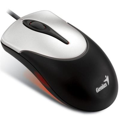 Мышь проводная Genius NetScroll 100 Silver-Black PS/2 GM-NScr 100 PS/2