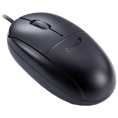 Мышь проводная Genius NetScroll 100X Black USB GM-Nscr 100 X USB