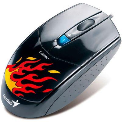 Мышь проводная Genius NetScroll G500 Laser Black USB