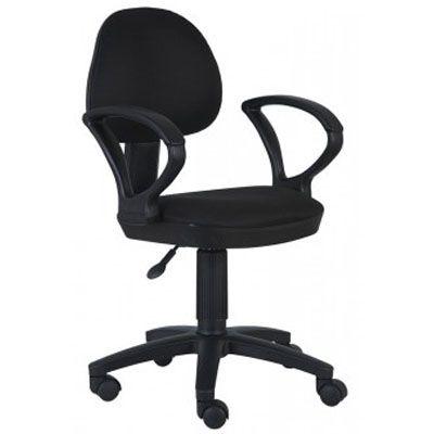 Офисное кресло Бюрократ Ch-318AXN 15-21 черный пластик ткань черный