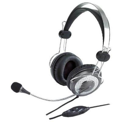 Наушники с микрофоном Genius HS-04SU