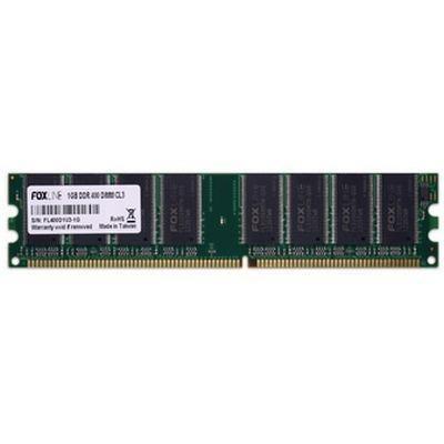 Оперативная память Foxline dimm 1GB 400 DDR CL3