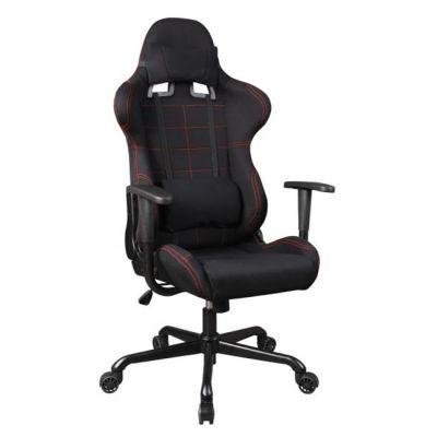 Офисное кресло Бюрократ черный (2 накладные подушки)771/Black+bl