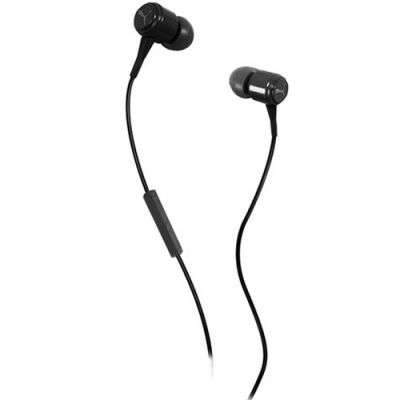 Наушники PUMA PMAD3036 BREAD-N-BUTTER IN-EAR + MIC (Black) PMAD3036BLK
