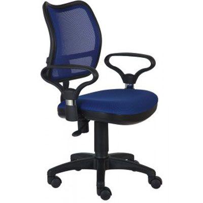 Офисное кресло Бюрократ Ch-799 BL TW-10 синее