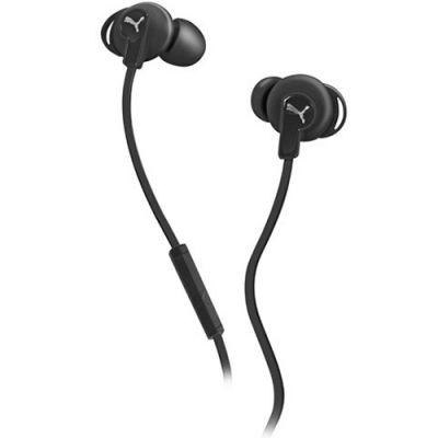 Наушники PUMA PMAD6032 BULLDOGS SPORT-LITE IN-EAR + MIC (Black) PMAD6032BLK