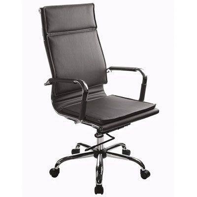 Офисное кресло Бюрократ руководителя Ch-993/Black