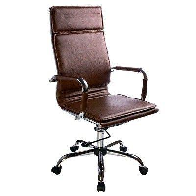 Офисное кресло Бюрократ офисный коричневый CH-993/BROWN
