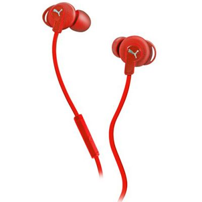 Наушники PUMA PMAD6032 BULLDOGS SPORT-LITE IN-EAR + MIC (Red) PMAD6032RED